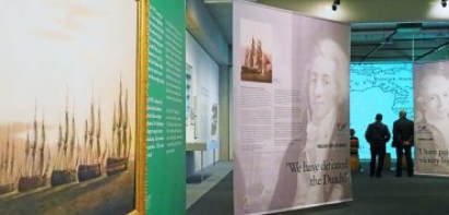 Tentoonstelling 'How we ditched the Dutch'